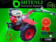 Мотоблок SHTENLI 1100 (Пахарь) 9 л.с./бензин без вом,  с фарой