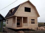 Дом-Баня из бруса готовые срубы с установкой-10 дней недорого Гомель