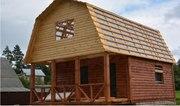 Дом-Баня из бруса готовые срубы с установкой-10 дней Брагин