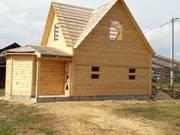 Дом-Баня из бруса готовые срубы с установкой-10 дней недор Ветка