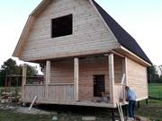 Дом-Баня из бруса готовые срубы с установкой-10 дней недорого Добруш