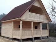 Дом-Баня из бруса готовые срубы с установкой-10 дней Житковичи