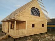 Дом-Баня из бруса готовые срубы с установкой-10 дней Калинковичи