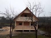 Дом/Баня из бруса Сож 6×4 с установкой