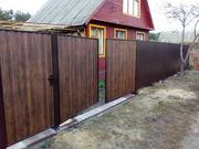 Ворота и калитки металлические и панельные.