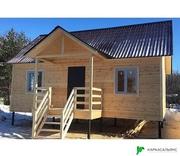 Каркасный Дом 7.5х9 м из бруса проект Калгари