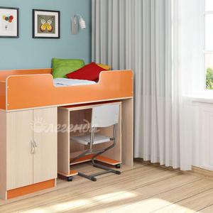 Кровать-чердак Легенда 2.2,  разные цвета