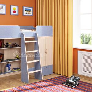 Кровать-чердак Легенда 3.1,  разные цвета