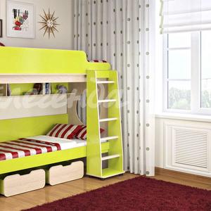 Кровать двухъярусная Легенда 7.1