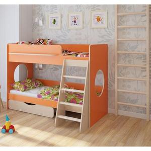 Кровать двухъярусная Легенда 25.2,  разные   цвета