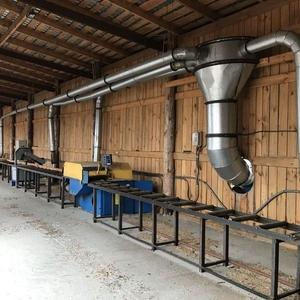 Производственная база деревообрабатывающего предприятия