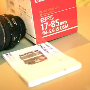 Продам  объектив Canon EF-S 17-85 mm F/4-5.6 IS USM,  бу,