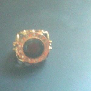 Перстень золотой с брильянтами