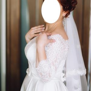 Свадебное платье 46-48 р.