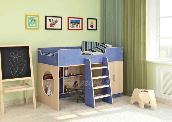 Кровать-чердак Легенда 2.1,  разные цвета