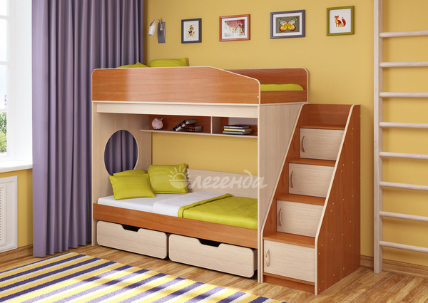Кровать детская Легенда 10.3 2