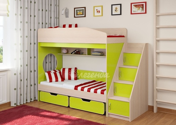 Кровать детская Легенда 10.3 3