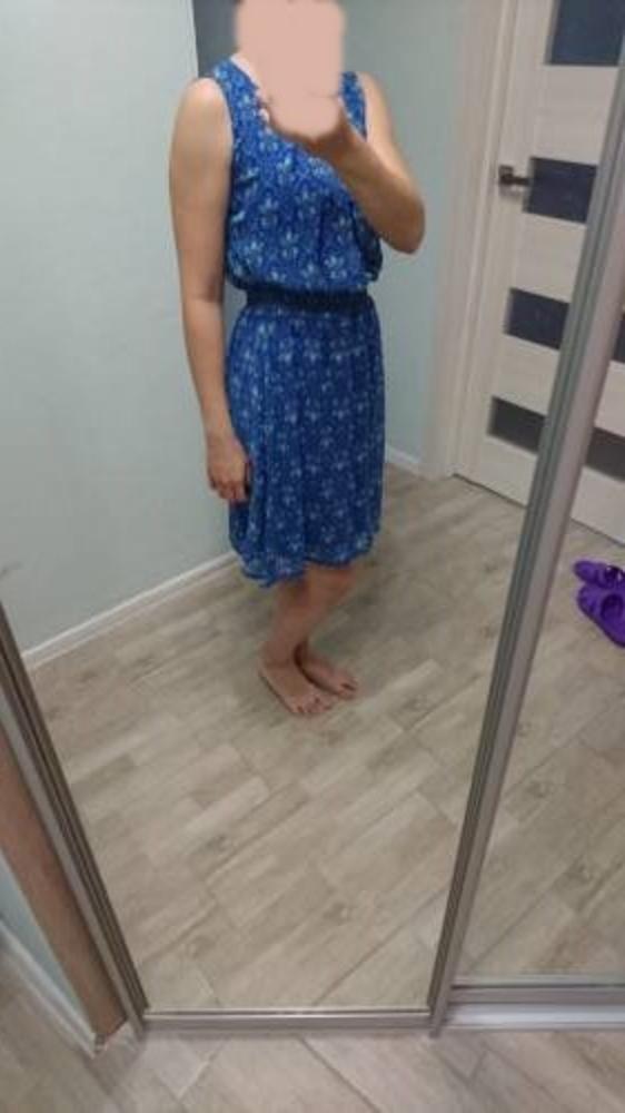 Летнее весеннее платье новое 46 размер 4