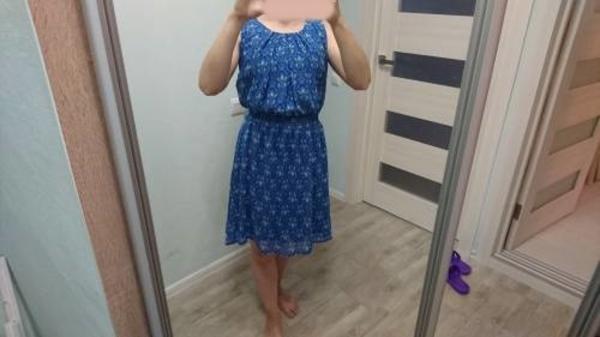 Летнее весеннее платье новое 46 размер 5