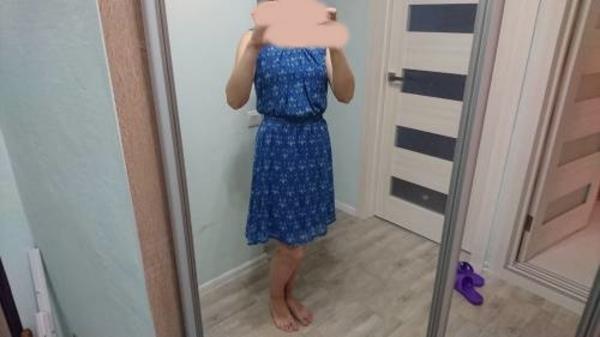 Летнее весеннее платье новое 46 размер 6