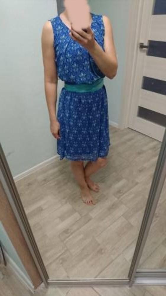 Летнее весеннее платье новое 46 размер 7