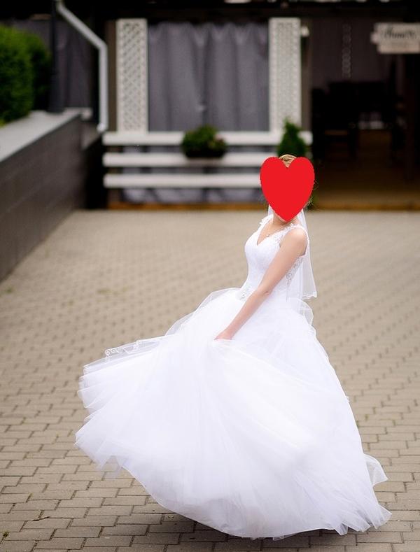 Свадебное платье для стройной невесты