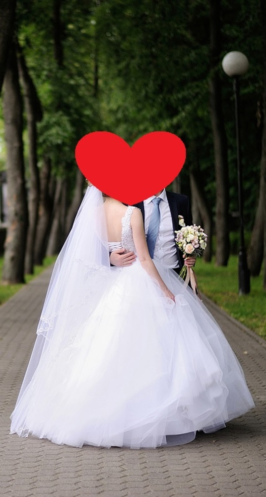 Свадебное платье для стройной невесты 2
