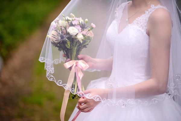 Свадебное платье для стройной невесты 3