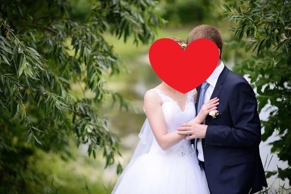 Свадебное платье для стройной невесты 5