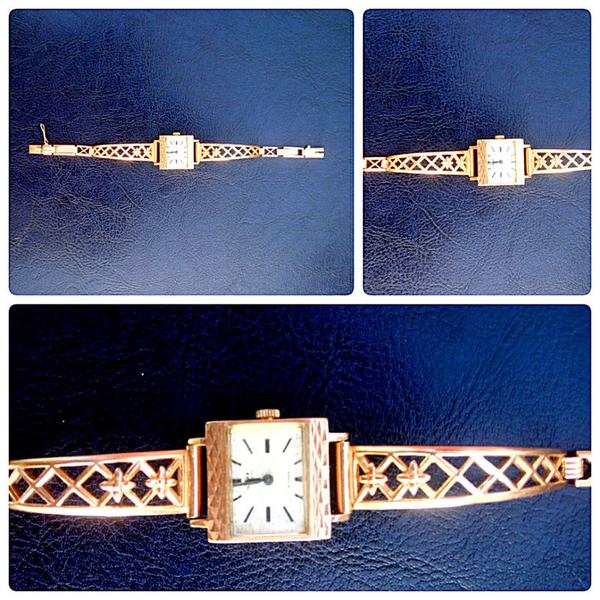 Золотые часы Чайка,  СССР,  2 шт 2