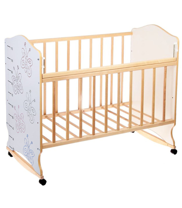 Детская кроватка качалка Морозко 3
