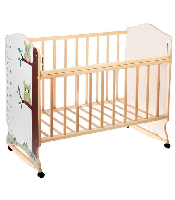Детская кроватка качалка Морозко 4