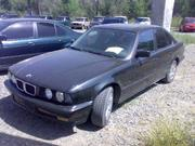 БМВ 525i седан,  2, 5 л. бензин,  94 г.в.,  АКПП,  АБС,  черный металик,  420