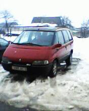 Продам Renault Espace красный 1995 г.в.