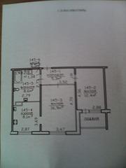 Продажа 2-х.комнатная квартира.