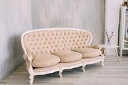 Антикварный диван из Италии после реставрации